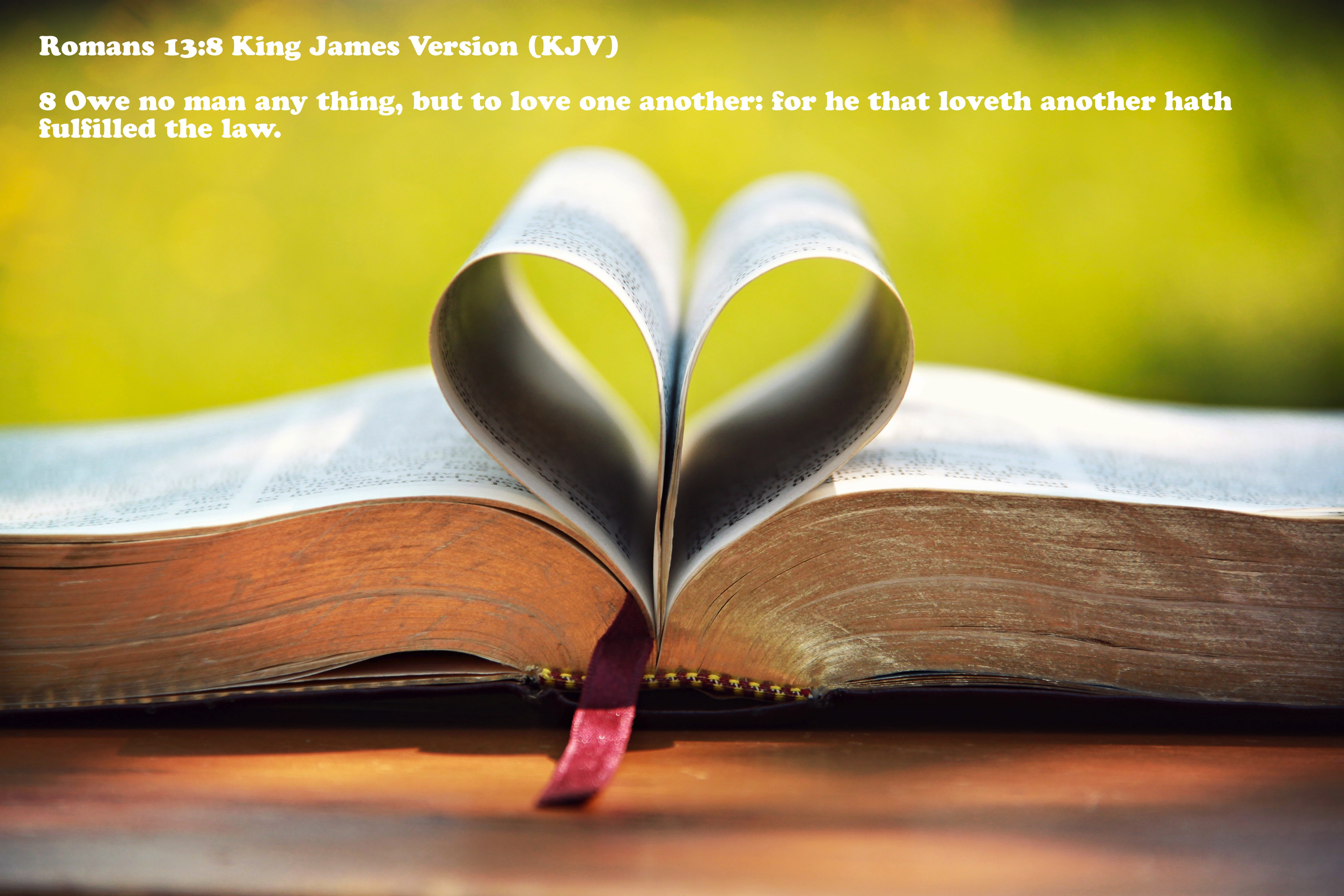 Love is   the Fulfillment of God's Laws - Lines & Precepts