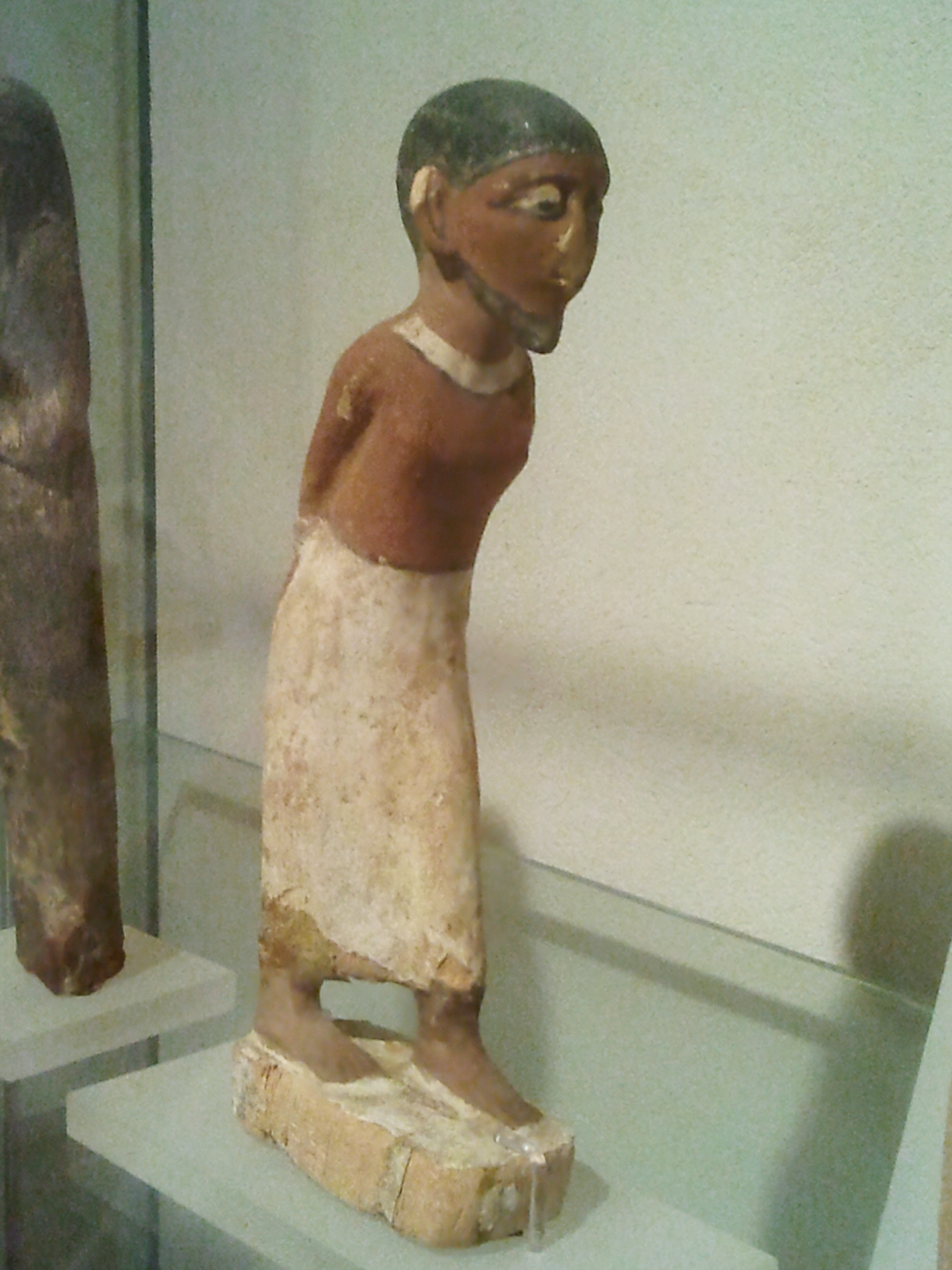 Figurine of Semitic Slave in Egypt during the time of the Exodus from the Hecht Museum, Haifa, Israel.