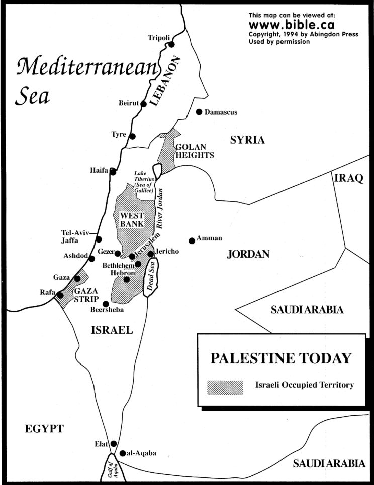 maps-palestine-today